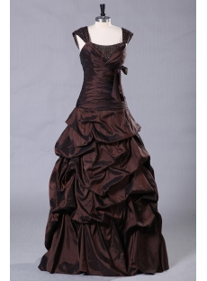 Chocolate Plus Size Quinceanera Dresses on Sale Cheap