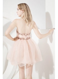 Coral Short Sweet 16 Dresses Cheap