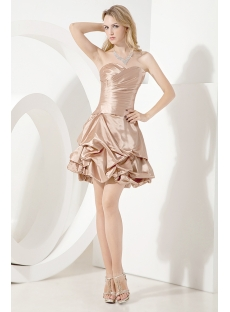 Dark Champagne Cute Sweet Sixteen Dress