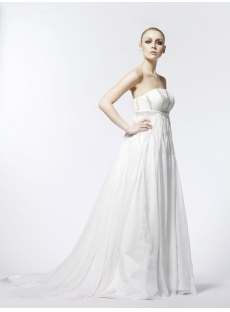 Empire Maternity Flowy Wedding Dresses