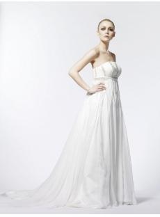 Empire Maternity Flowy Wedding Dresses
