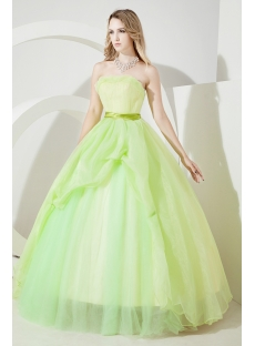 Green Cheap Quince Gown under 200