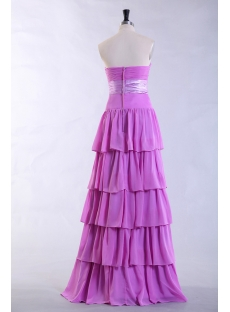 Lilac Long Pretty Prom Dress with Sweetheart
