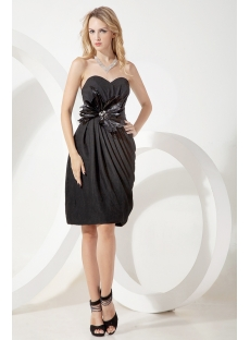 Mystique Column Little Black Cocktail Dresses