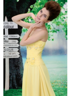 Perfect A-Line Long / Floor-Length Chiffon Elastic Silk-like Satin Evening Dress