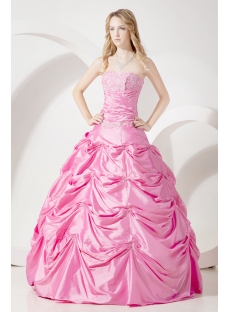 Pretty Pink Quinceanera Dresses Cheap:1st-dress.com