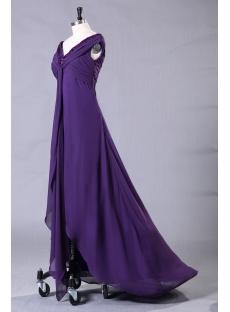 Plus Size High Low Hem Prom Dresses 106