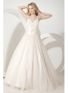 Romantic Designer Ball Gown Wedding Dresses 2013