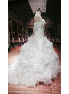 romantic plus size ball gown wedding dress with corset1st