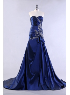 Royal A-line Pretty Celebrity Dress 2013