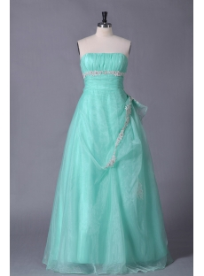 Sage Plus Size Quinceanera Gown Cheap
