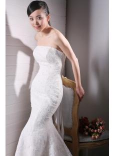 Sheath Lace Destination Wedding Dresses with Corset Back