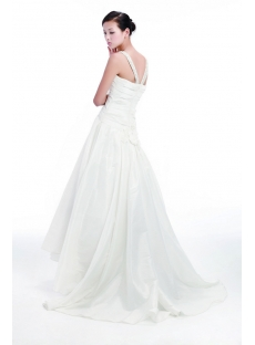 Straps Casual Wedding Dresses for Garden Wedding