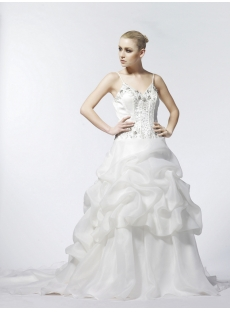 Straps Haute Couture Wedding Dresses 2013