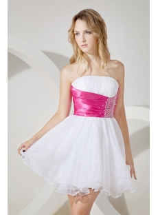 Sweet Short Graduation Dress for Junior