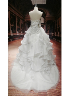 Sweetheart Plus Size Destination Wedding Gowns