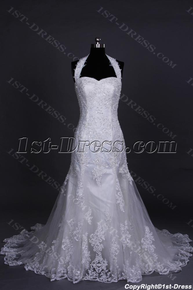 images/201307/big/2014-Spring-Luxury-Halter-Sheath-Lace-Bridal-Gown-2487-b-1-1375189052.jpg
