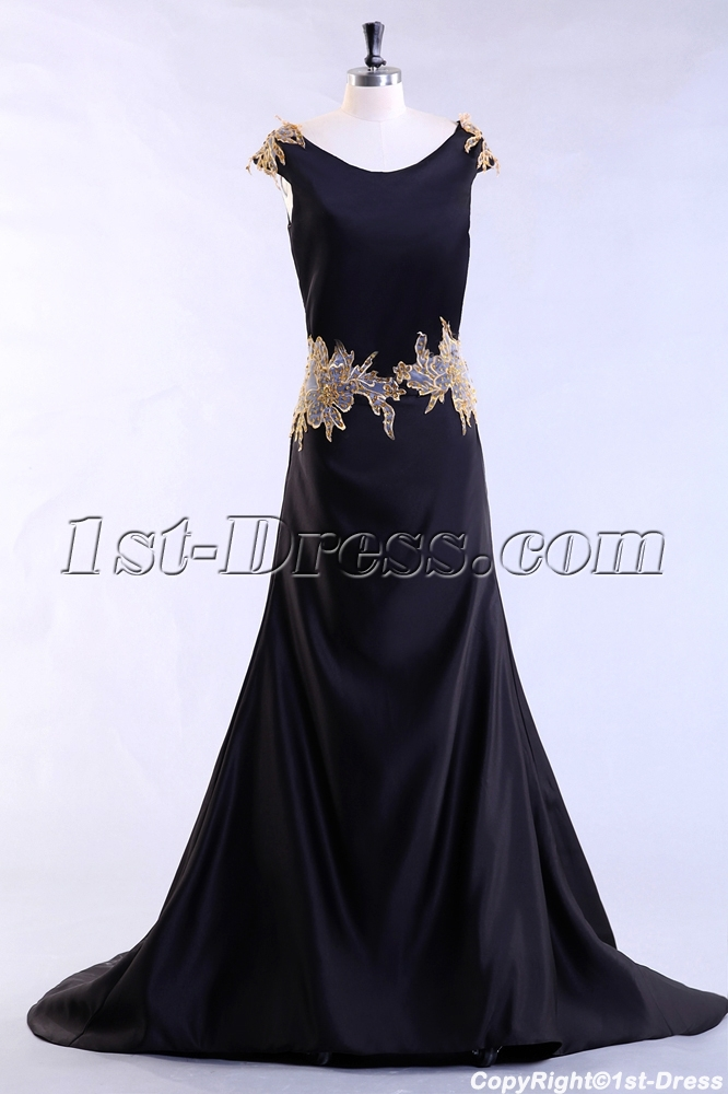 images/201307/big/Black-Long-Plus-Size-Evening-Dress-with-Gold-Appliques-2479-b-1-1375179775.jpg