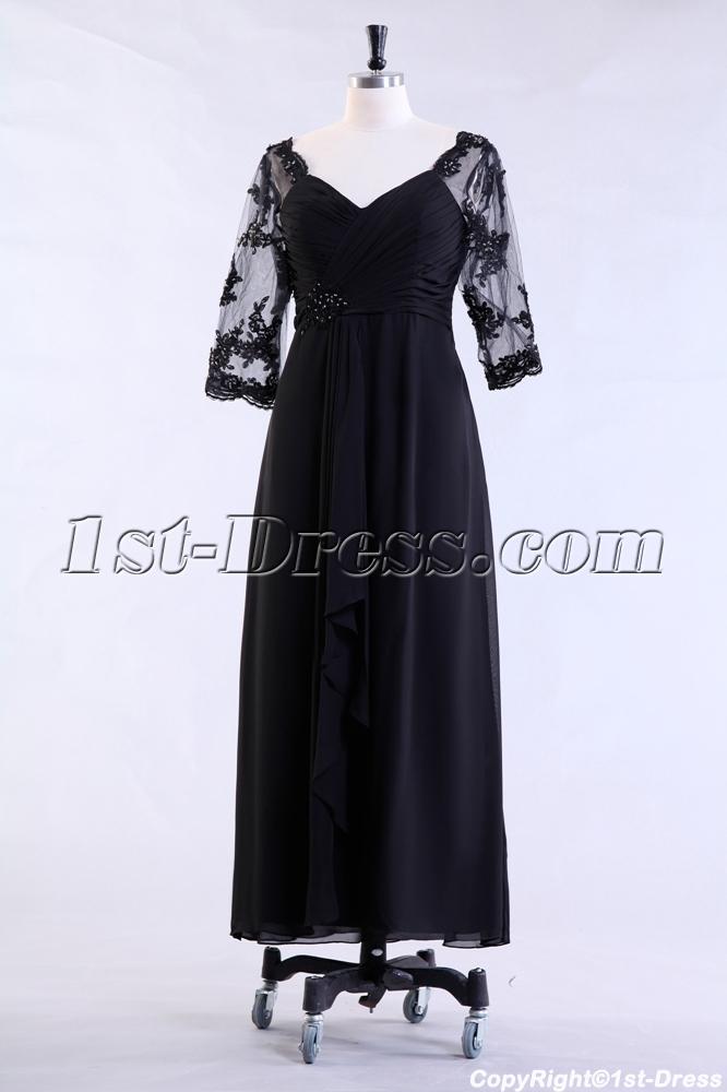 images/201307/big/Black-Middle-Length-Sleeves-Formal-Mother-of-Groom-Dress-2465-b-1-1375104176.jpg