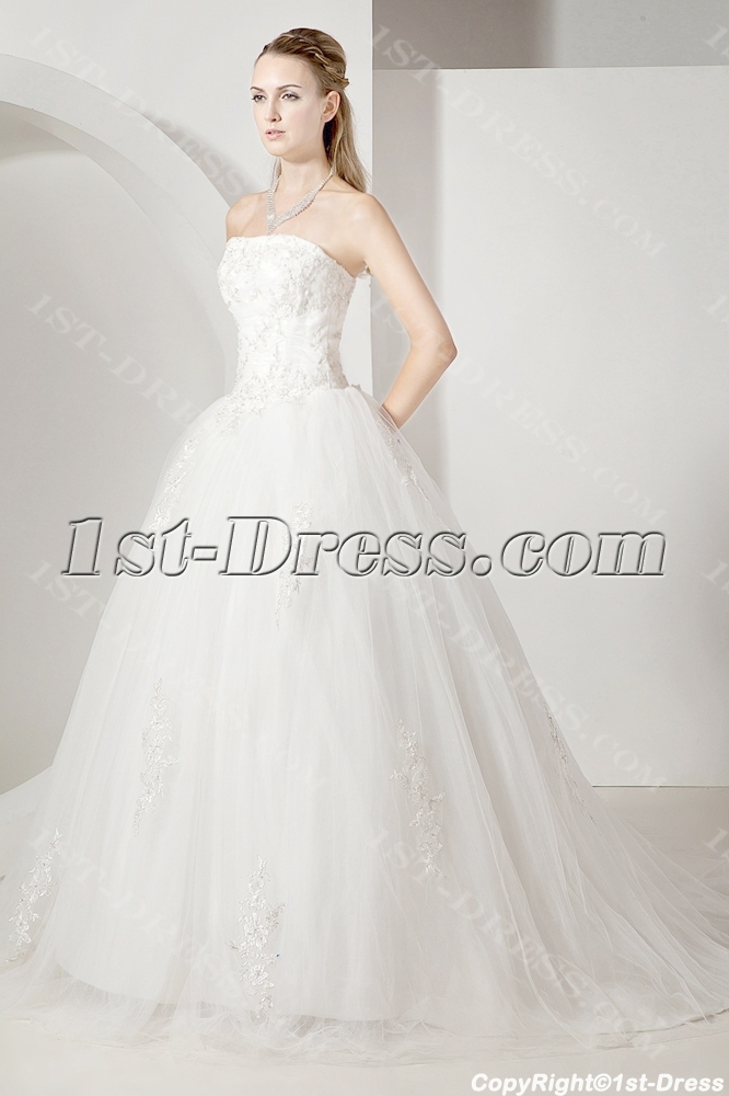 cheap elegant ball gown wedding dress 2013 1st. Black Bedroom Furniture Sets. Home Design Ideas