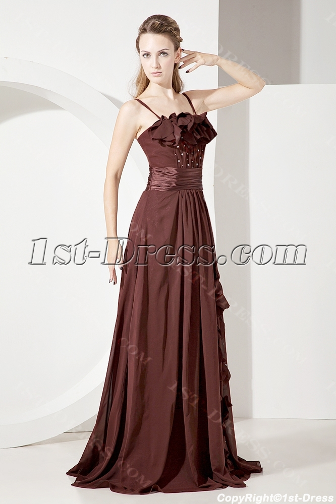 images/201307/big/Chocolate-Spaghetti-Straps-Long-Mother-of-Groom-Gown-2208-b-1-1372763702.jpg