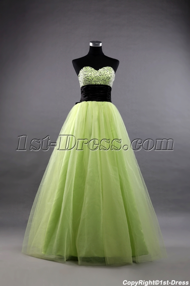 images/201307/big/Green-and-Black-Long-Terrific-15-Quinceanera-Dresses-2488-b-1-1375263119.jpg