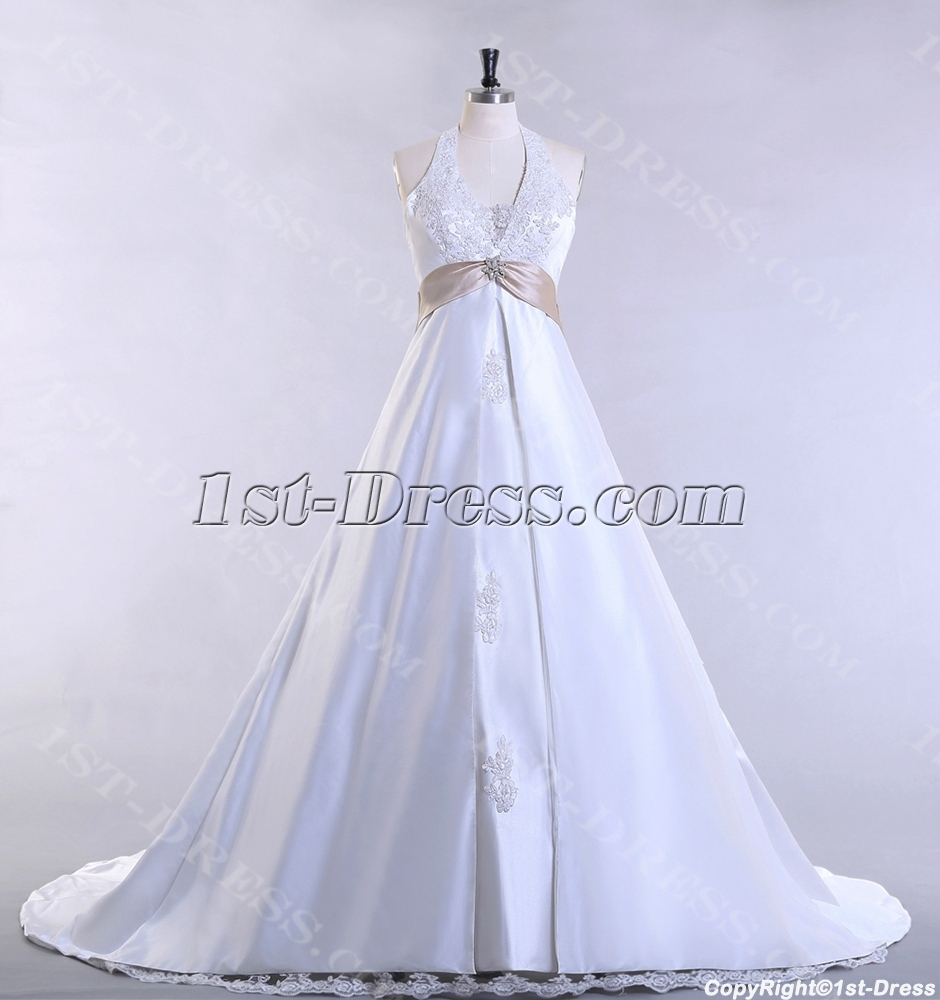 images/201307/big/Halter-Traditional-Plus-Size-Bridal-Gown-with-A-line-2484-b-1-1375182175.jpg