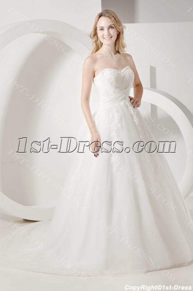 images/201307/big/Ivory-Fall-Princess-Bridal-Gowns-with-Strapless-2357-b-1-1374402058.jpg
