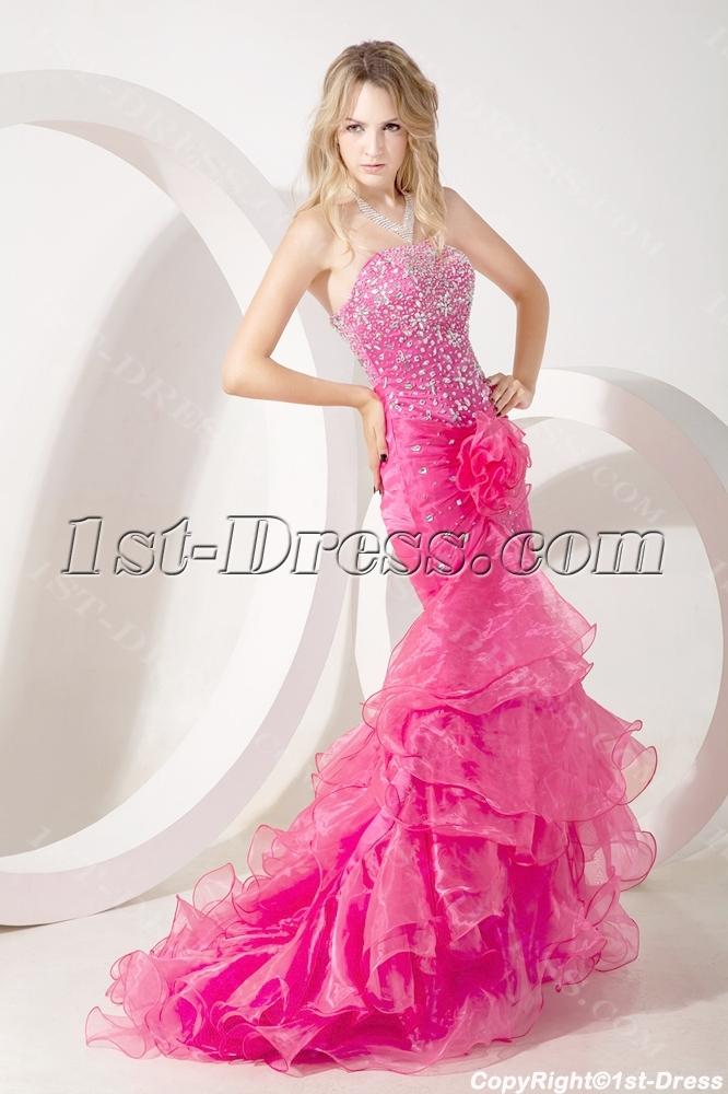 images/201307/big/Luxury-Hot-Pink-Sheath-Celebrity-Dress-with-Train-2259-b-1-1373287594.jpg
