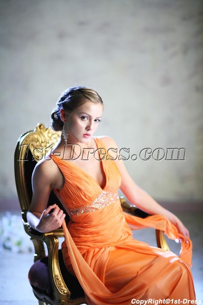 images/201307/big/Orange-Plunge-Plus-Size-Prom-Dresses-2013-2386-b-1-1374574313.jpg