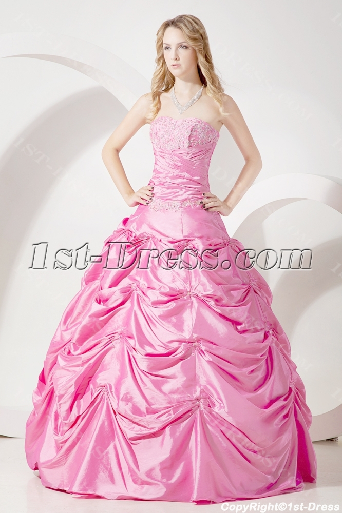 Pretty Pink Quinceanera Dresses