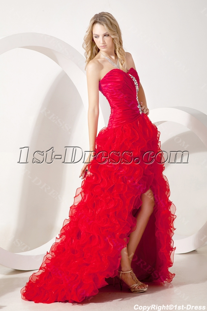 images/201307/big/Red-Pretty-Quinceanera-Gown-with-Split-Front-2258-b-1-1373286874.jpg