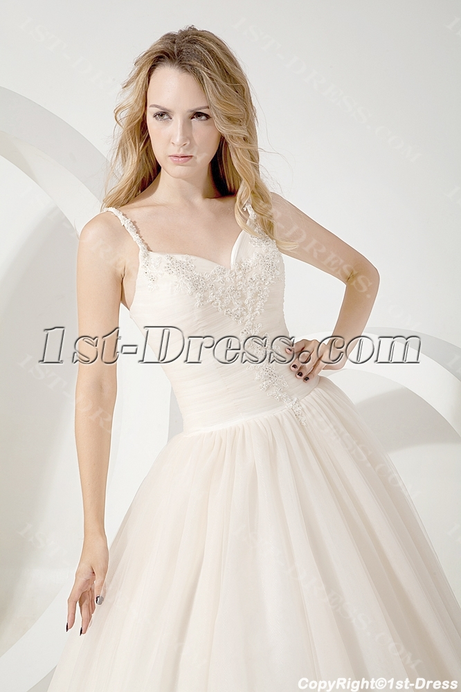 Romantic Designer Ball Gown Wedding Dresses 2013:1st-dress.com