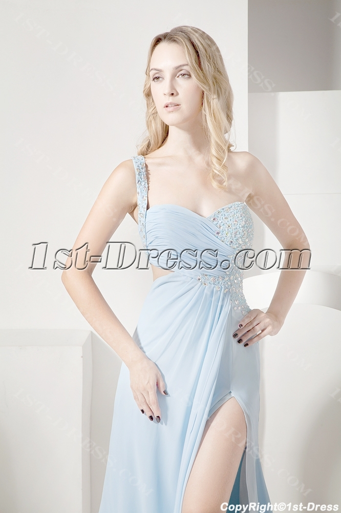 e881f1ea7105 Sky Blue Sexy Evening Dress for Summer (Free Shipping)