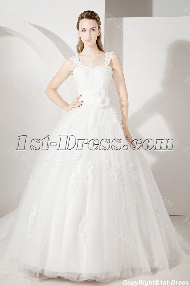 images/201307/big/Straps-Lace-Ball-Gown-Wedding-Dress-2205-b-1-1372761701.jpg