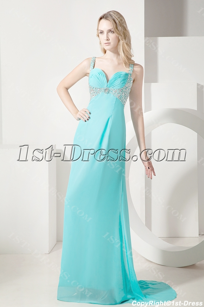 images/201307/big/Teal-Plus-Size-Prom-Gown-with-Straps-2281-b-1-1373712873.jpg
