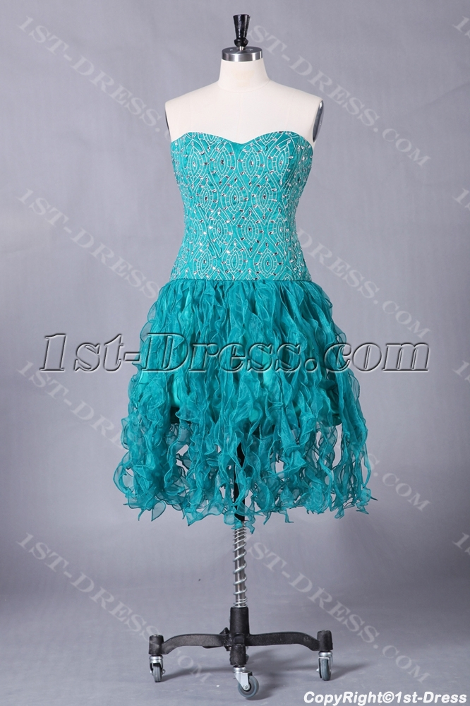 images/201307/big/Teal-Plus-Size-Short-Quinceanera-Dresses-with-Sweetheart-2438-b-1-1374829810.jpg
