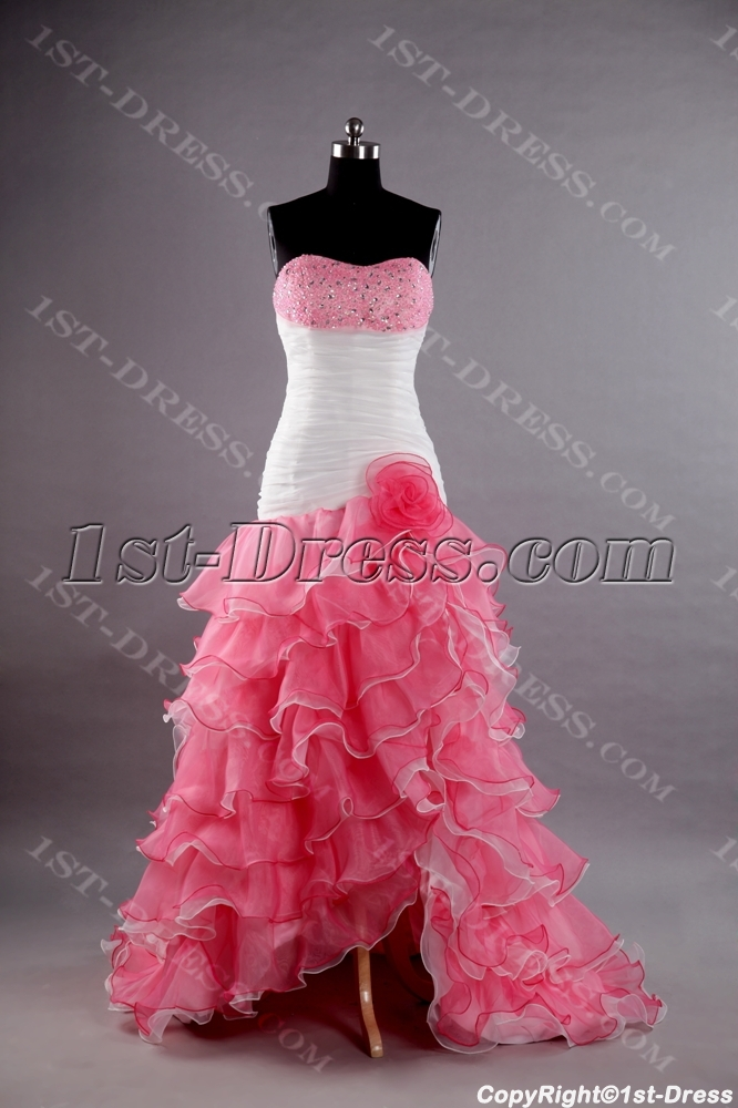 images/201307/big/White-and-Pink-Best-Quinceanera-Dress-with-Slit-Front-2491-b-1-1375264310.jpg