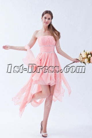 2013 High Low Romantic Style Prom Dresses