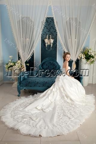Best Luxurious Wedding Dress in 2014 Spring