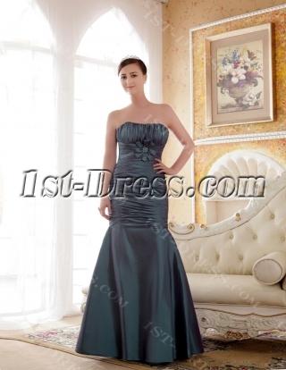 Elegant Long Sheath Plus Size Bridesmaids Dresses
