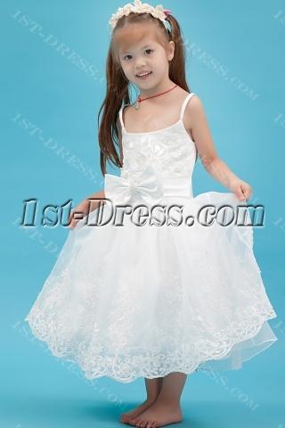 Exclusive Spaghetti Straps Girl Part Dress Cheap