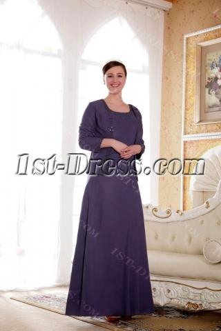 Modest Mother of the Bride Dresses for Plus Size Women:1st-dress.com