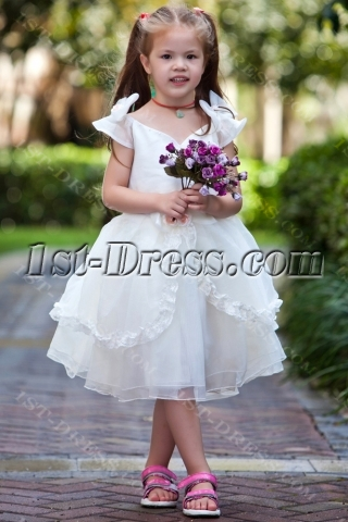 Princess Affordable Flower Girl Dresses