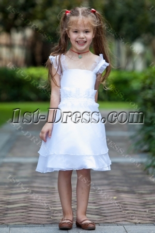 Straps Elegant Short Girl Party Dress Cheap