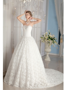 2014 Spring Floral Luxurious Bridal Gowns