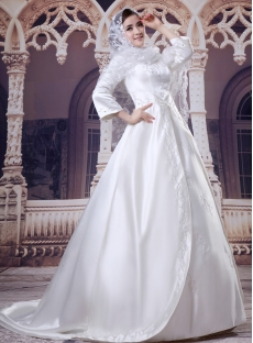 images/201308/small/3-4-Sleeves-Embroidery-Muslim-Bridal-Gowns-2670-s-1-1376060850.jpg