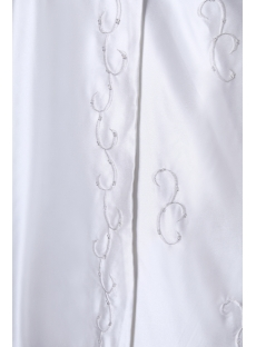 3/4 Sleeves Embroidery Muslim Bridal Gowns
