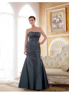 Elegant Long Sheath Plus Size Bridesmaids Dresses