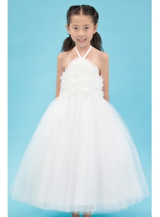Hot Sale Backless Ballerina Flower Girl Dresses